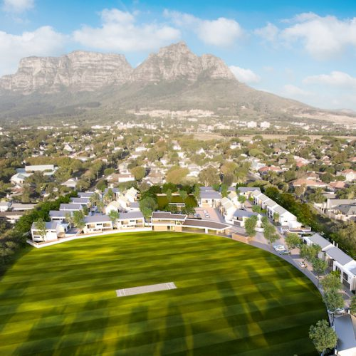 Rondebosch Oval Aerial View