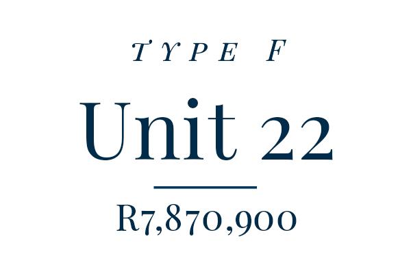 Unit 22 – Rented