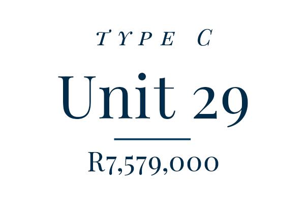 Unit 29 – Rented